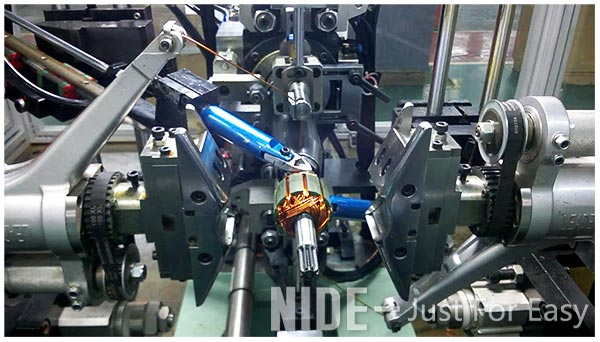 double flyer armature winding machine