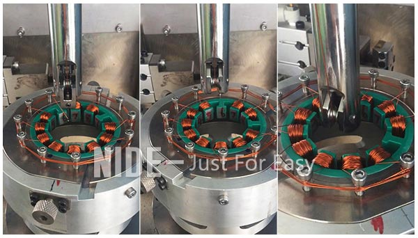 automatic motor winding machine stator coil winder
