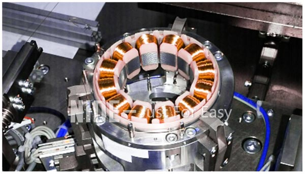 BLDC motor winding machine automatic stator coil winder