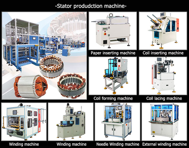 stator manufacuturing machine