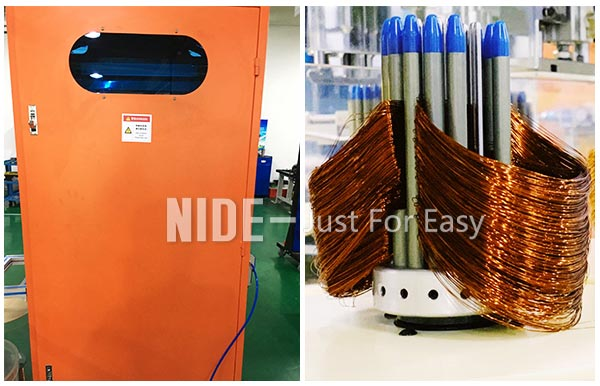 automatic stator coil winding machine for electric motor